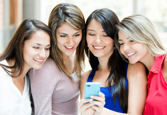 social media young girls