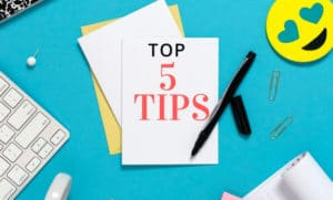 5 top tips for 2020