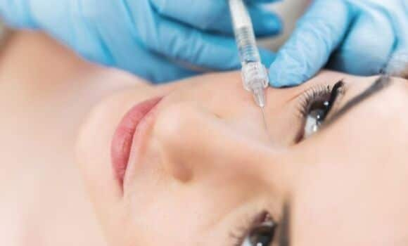 botox treatment eye furrows